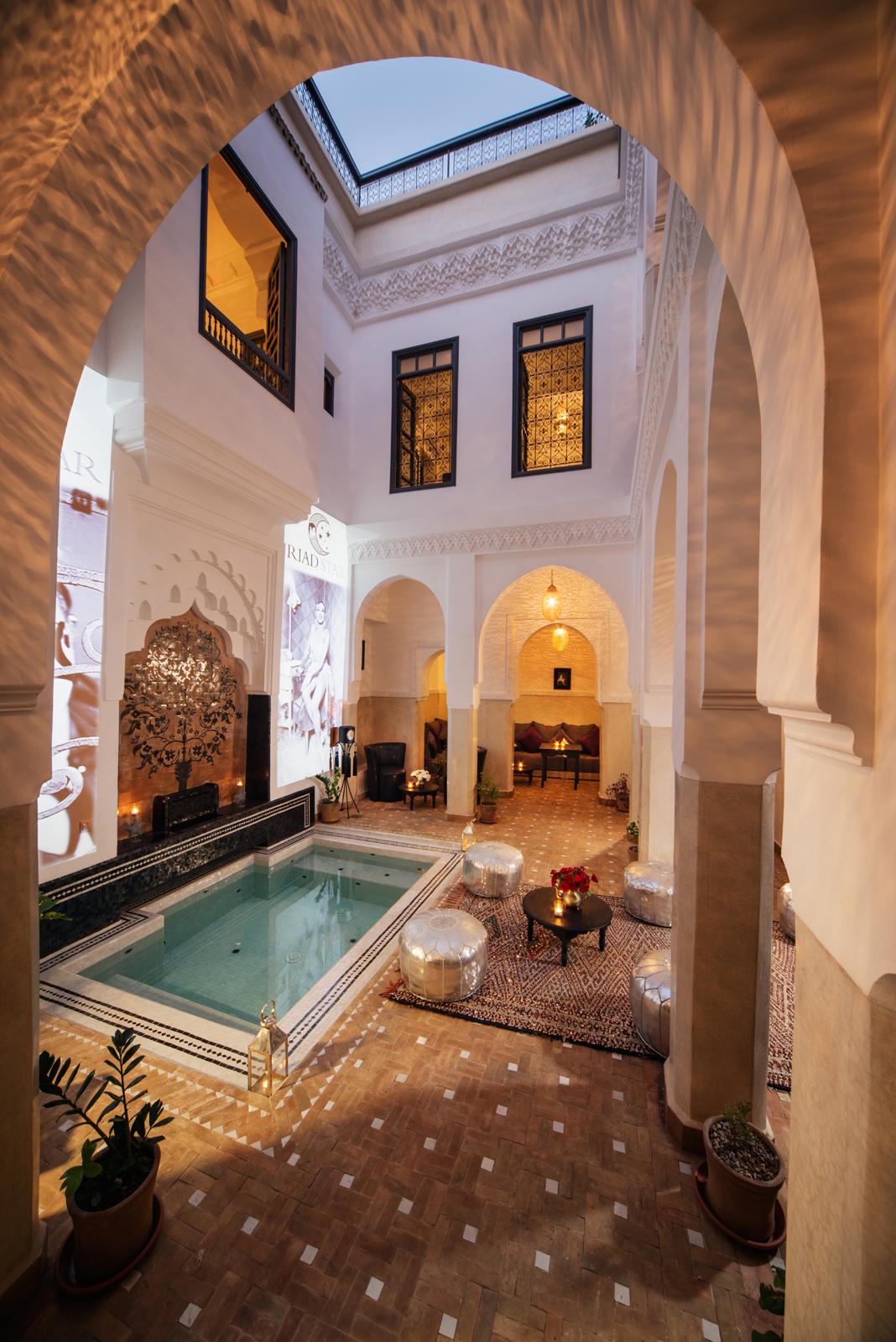 Marrakech riad - Deco kamer stijl engels ...